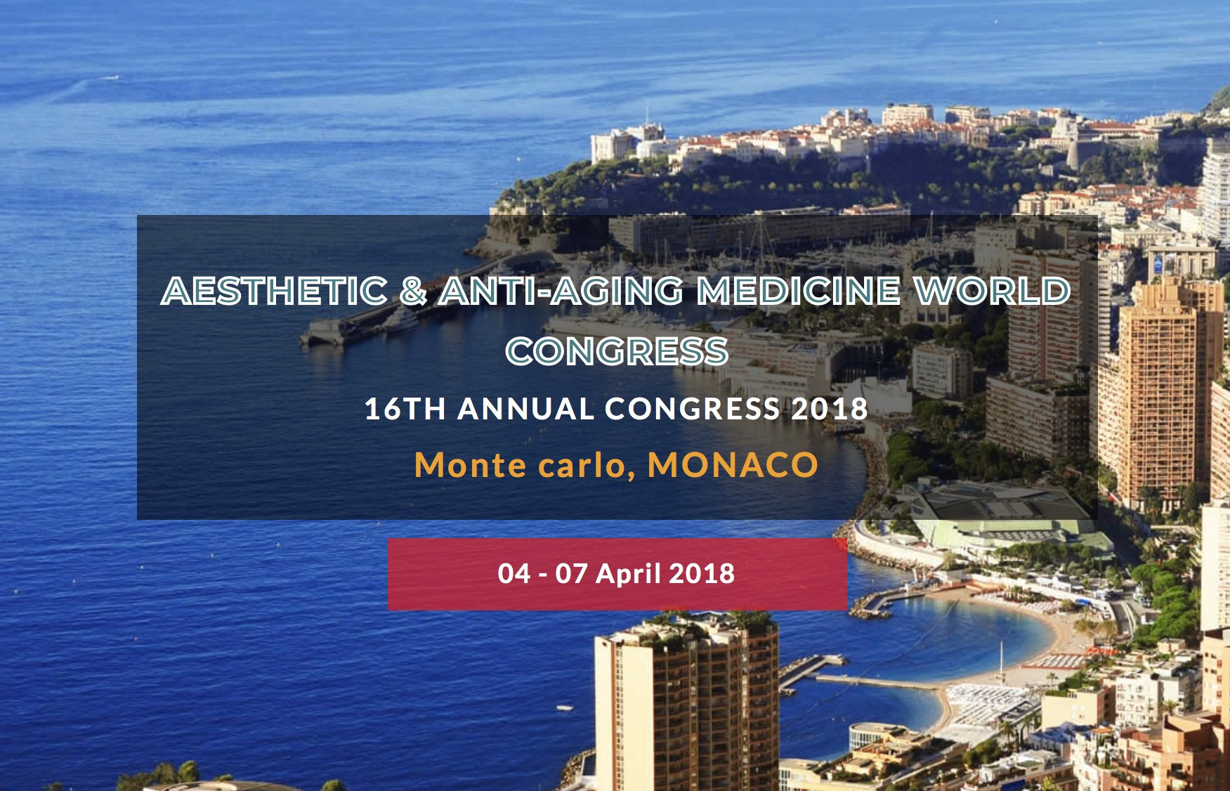 Aesthetic and Antiaging Medicine World Congress 2018 | 04.04.18