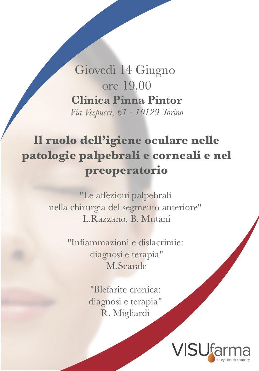 Il ruolo dell'igiene oculare nelle patologie palpebrali e corneali e nel preoperatorio | 14.06.18